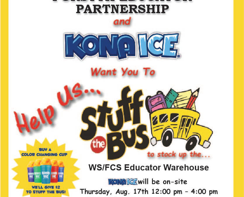 Stuff The Bus, August 17th & 18th