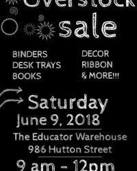Educator Warehouse Overstock Sale